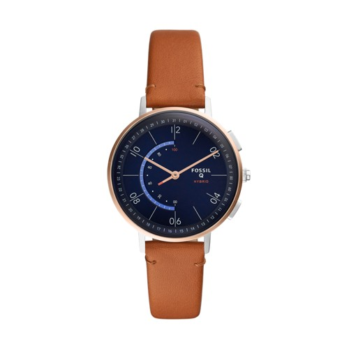 fossil Hybrid Smartwatch - Harper Tan Leather FTW5027