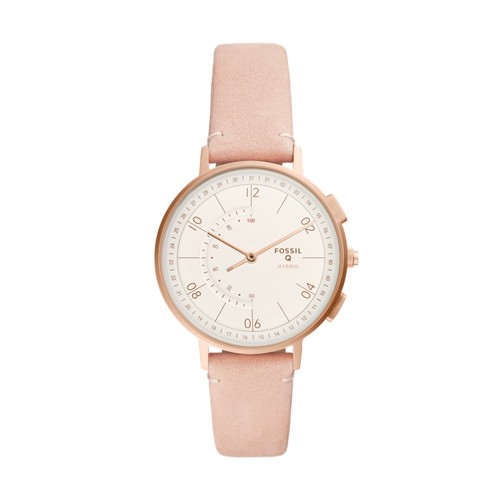 fossil Hybrid Smartwatch - Harper Blush Leather FTW5029
