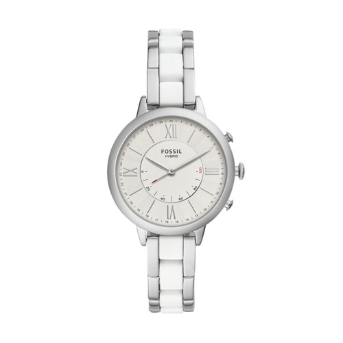 fossil Hybrid Smartwatch - Jacqueline Stainless Steel FTW5047