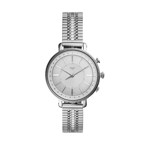 fossil Hybrid Smartwatch - Cameron Stainless Steel FTW5055