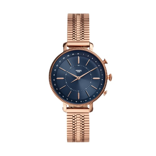 Hybrid Smartwatch Cameron Rose Gold-Tone Stainless Steel FTW5061