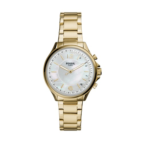 Hybrid Smartwatch Sadie Gold-Tone Stainless Steel FTW5075