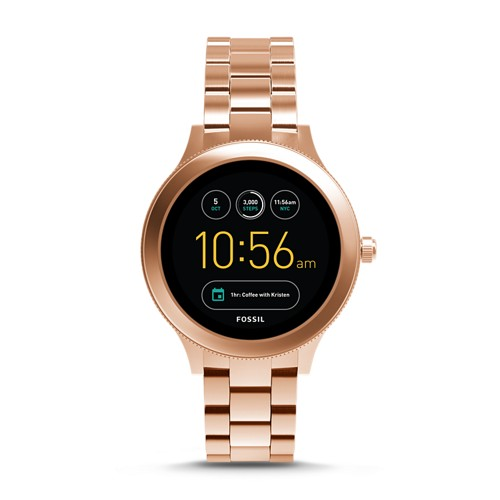 Fossil REFURBISHED Gen 3 Smartwatch - Venture Rose Gold-Tone Stainless Steel FTW6000J