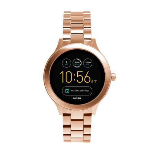 Fossil Gen 3 Smartwatch - Venture Rose Gold-Tone Stainless Steel FTW6000
