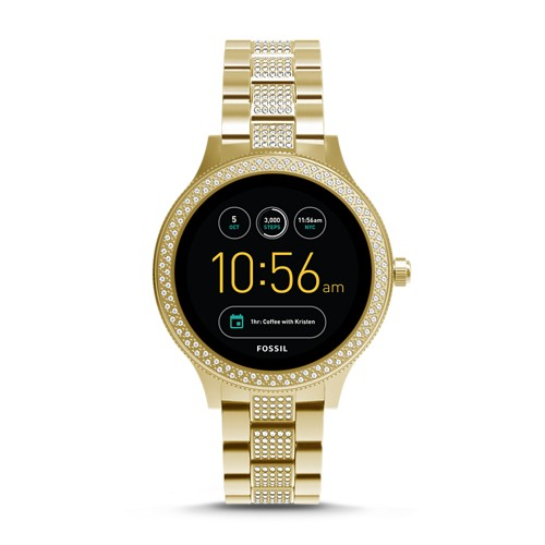 Fossil REFURBISHED Gen 3 Smartwatch - Q Venture Gold-Tone Stainless Steel FTW6001J