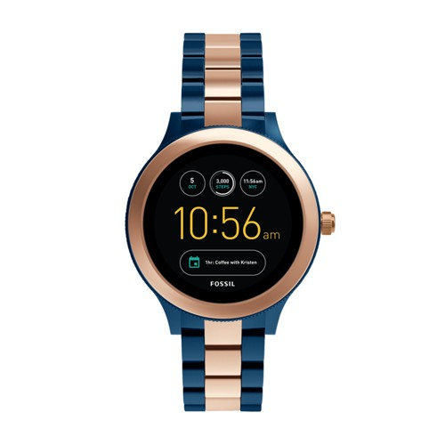 Fossil Gen 3 Smartwatch - Venture Rose Two-Tone Stainless Steel FTW6002