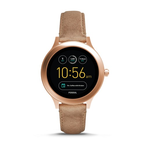 Fossil REFURBISHED Gen 3 Smartwatch - Q Venture Sand Leather FTW6005J