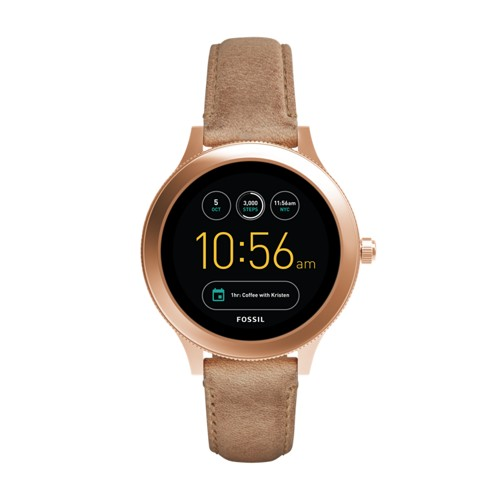 Fossil Gen 3 Smartwatch - Q Venture Sand Leather Ftw6005