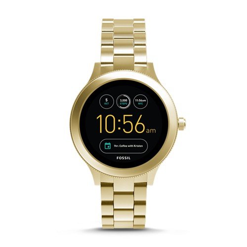 Fossil REFURBISHED Gen 3 Smartwatch - Q Venture Gold-Tone Stainless Steel FTW6006J
