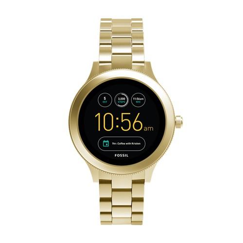 Fossil Gen 3 Smartwatch - Q Venture Gold-Tone Stainless Steel FTW6006