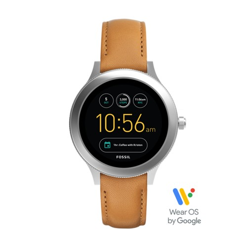 Fossil Gen 3 Smartwatch - Venture Luggage Leather FTW6007