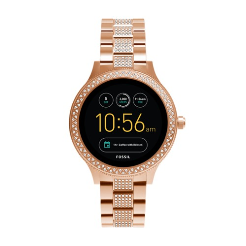 Fossil Gen 3 Smartwatch - Q Venture Rose Gold-Tone Stainless Steel FTW6008