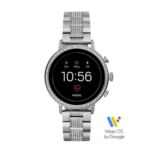 fossil Gen 4 Smartwatch - Venture HR Stainless Steel FTW6013