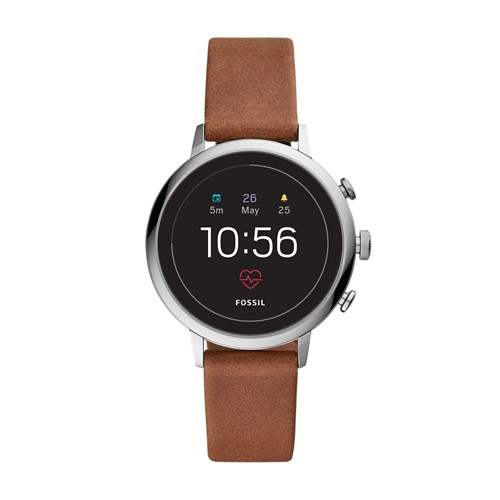 REFURBISHED - Gen 4 Smartwatch - Venture HR Brown Leather FTW6014J