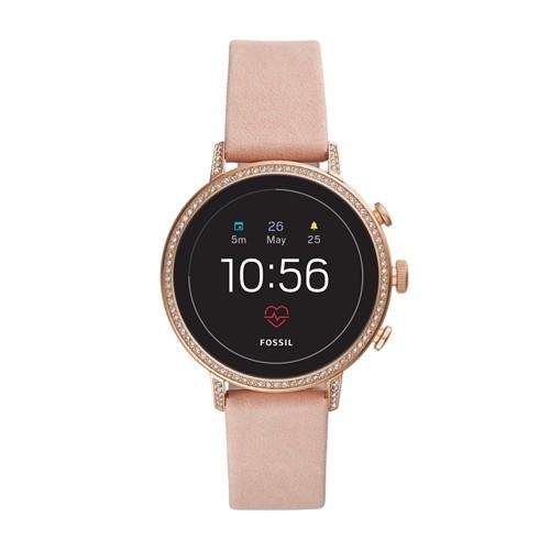 REFURBISHED - Gen 4 Smartwatch - Venture HR Blush Leather FTW6015J