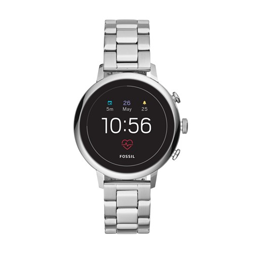 fossil REFURBISHED - Gen 4 Smartwatch - Venture HR Stainless Steel FTW6017J