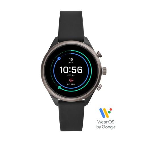 REFURBISHED -  Sport Smartwatch - 41mm Black Silicone FTW6024J