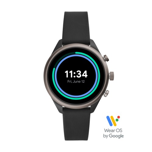 Sport Smartwatch - 41mm Black Silicone FTW6024