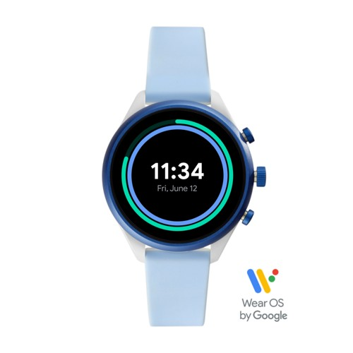 Sport Smartwatch - 41mm Light Blue Silicone FTW6026