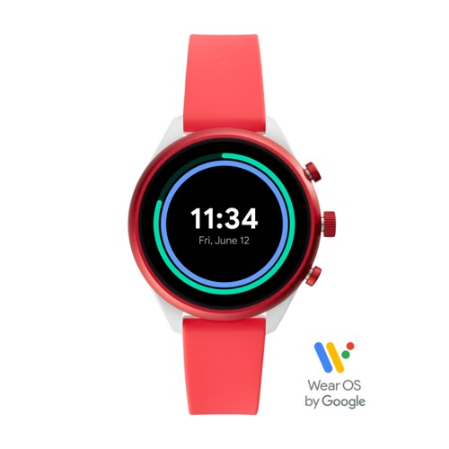 Sport Smartwatch - 41mm Red Silicone FTW6027