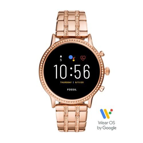 Gen 5 Smartwatch - Julianna HR Rose Gold-Tone Stainless Steel FTW6035