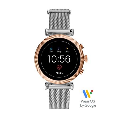 Gen 4 Smartwatch - Sloan HR Stainless Steel Mesh FTW6043