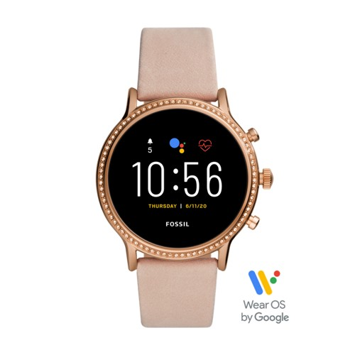 Fossil Gen 5 Smartwatch - Julianna Hr Blush Leather  jewelry