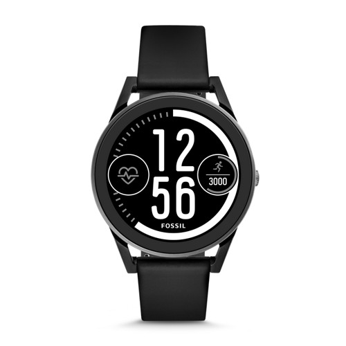 Fossil REFURBISHED Gen 3 Sport Smartwatch - Q Control Black Silicone FTW7000J