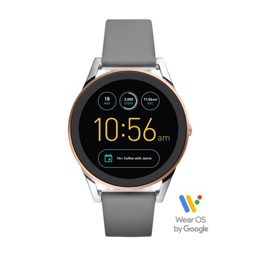 Fossil Gen 3 Sport Smartwatch - Q Control Gray Silicone Ftw7001
