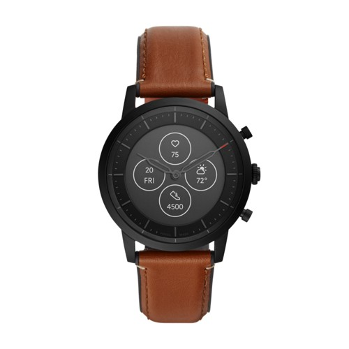 Hybrid Smartwatch HR Collider Tan Leather FTW7007