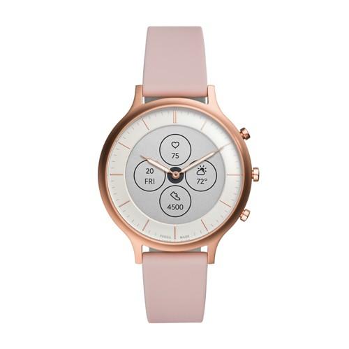 Hybrid Smartwatch HR Charter Blush Silicone FTW7013