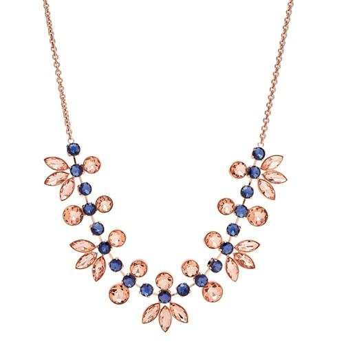 Fossil Glitz Glass Necklace Ja6915791
