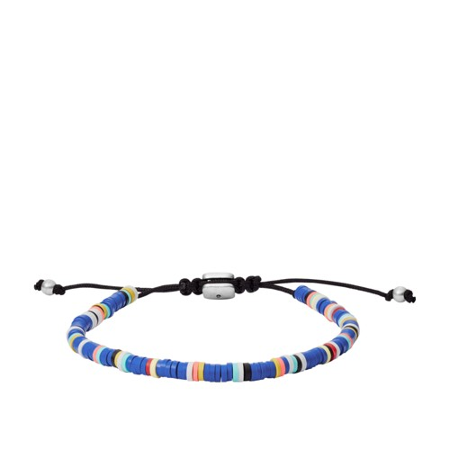 Blue Brass Beaded Bracelet JA6993040