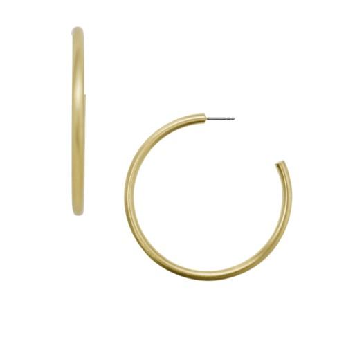 Gold-Tone Brass Hoops JA6995710