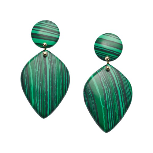 Teardrop Green Earrings JA7002710