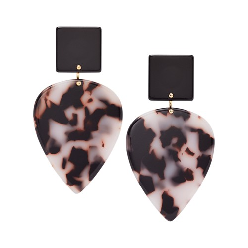 Teardrop Snow Leopard Earrings JA7014710