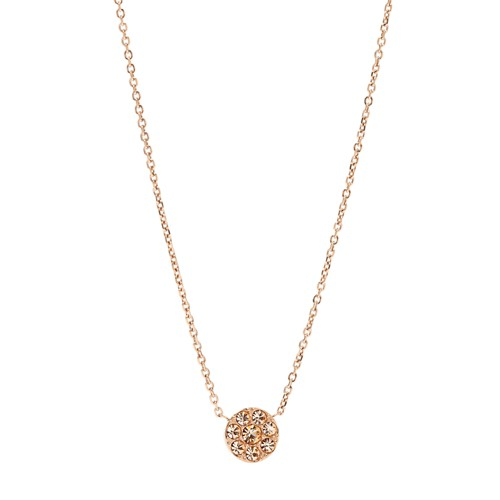 Tiny Disc Pendant- Rose JF00846791