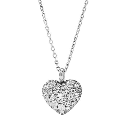 women Glitz Heart Pendant JF01207040