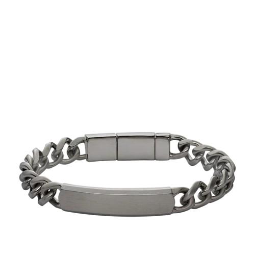 Fossil ID Plate Bracelet JF02218001