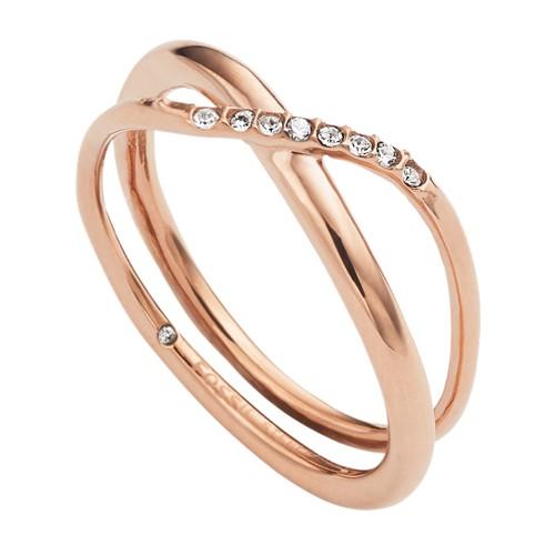 Fossil Glitz Twist Ring Jf022557916.5