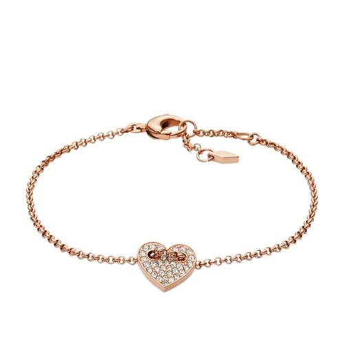 Fossil Glitz Heart Bracelet JF02283791