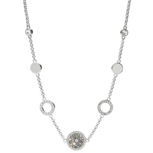 Fossil Vintage Glitz Crystal Necklace JF02312040