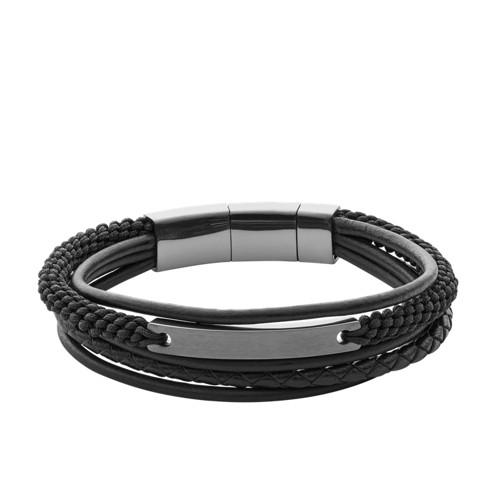 Fossil Vintage Casual Steel Multi-Strand Bracelet JF02378793