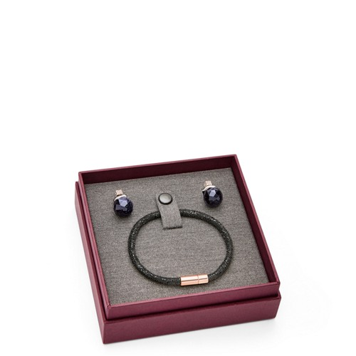 Fossil Gift Brilliantly Earring And Bracelet Set Jf02519791