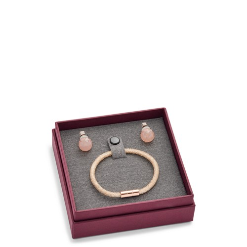 Fossil Gift Brilliantly Earring And Bracelet Set Jf02520791