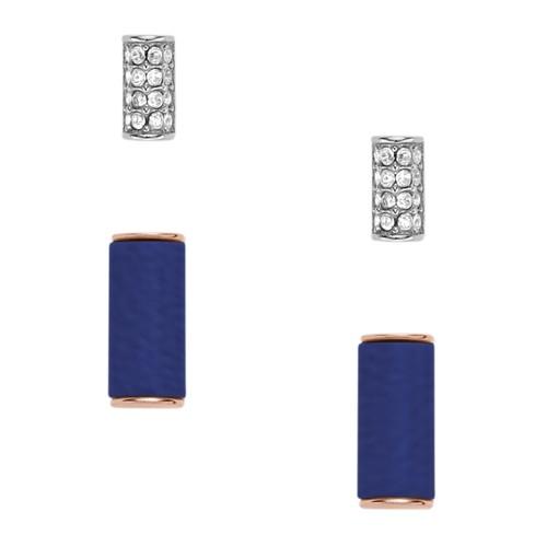 Fossil Semi-Precious Bar Stud Duo Jf02545998