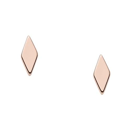 Fossil Diamond-Shaped Studs JF02556791