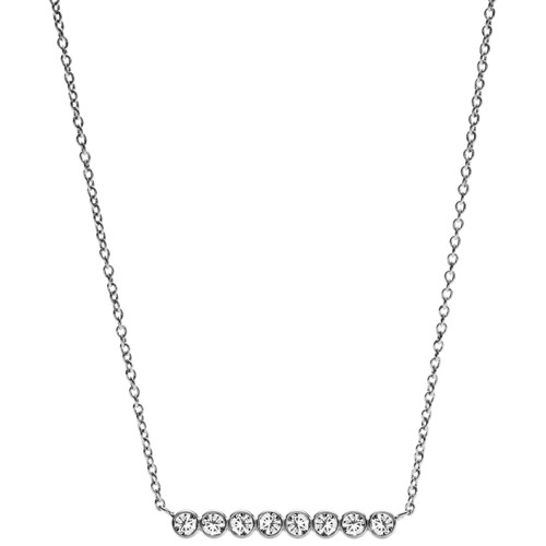 Fossil Vintage Glitz Horizontal Line Necklace Jf02589040