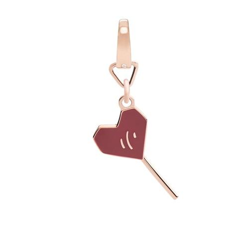 Fossil Heart Lollipop Charm Jf02608791