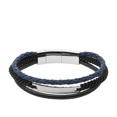 Fossil Women's Black Bracelet JF02377793 GA7iXpvnnT